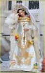 Но свадебные платья в исконно русском стиле встречаются крайне редко.  Так как не многие девушки решаются на такой...